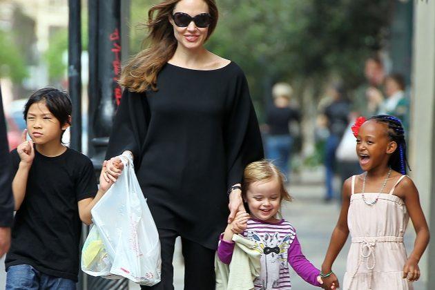 Anđelina Džoli sa decom