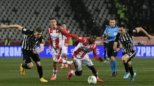 Crvena zvezda Partizan Bojan Ostojić