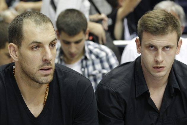 Aleks Marić Novica Veličković Partizan