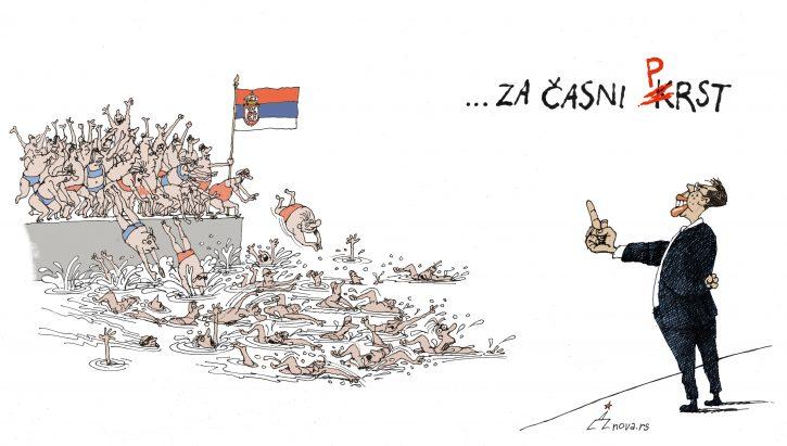 Dušan Petričić, karikatura