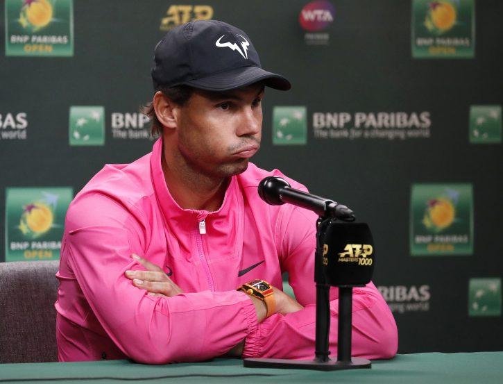 Rafael Nadal Indijan Vels