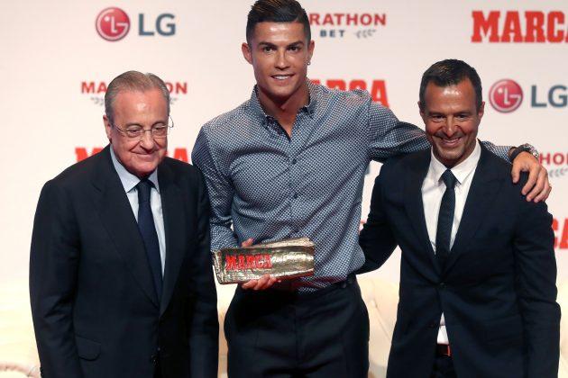 Perez, Ronaldo i Mendeš poziraju