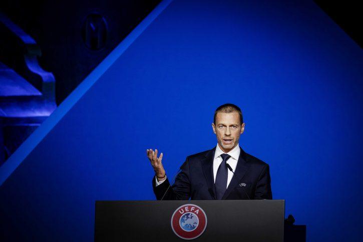 Aleksander Čeferin UEFA