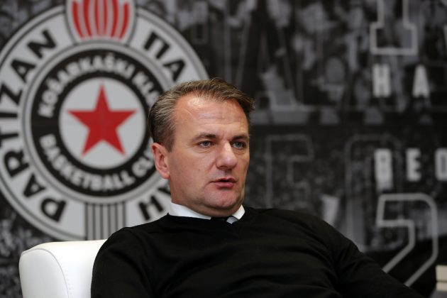 Ostoja Mijailović Košarkaški klub Partizan