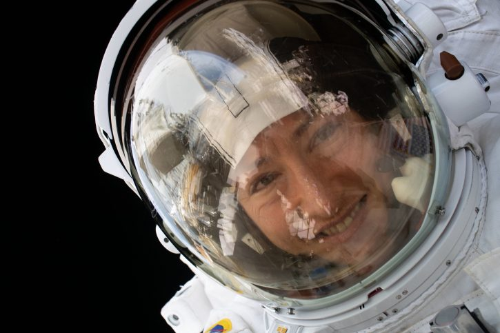 astronaut Kristina Koč