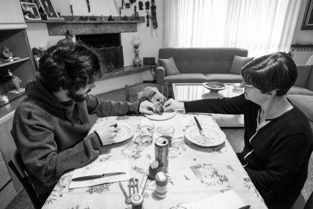 Porodica u Italiji u izolaciji