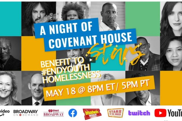 a night of covenant house printscreen: covenanthouse.org