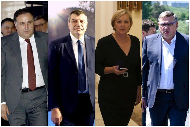 v.d. direktori Zoran Babic, Milorad Grcic, Mira Petrovic, Zoran Drobnjak
