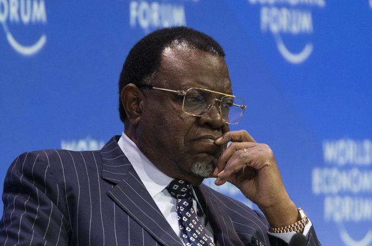 kažnjen predsednik Namibije
