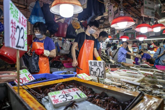 Vuhan market