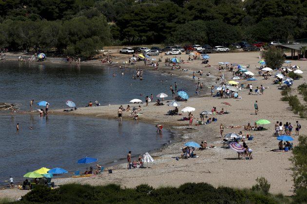 gužva na grčkim plažama