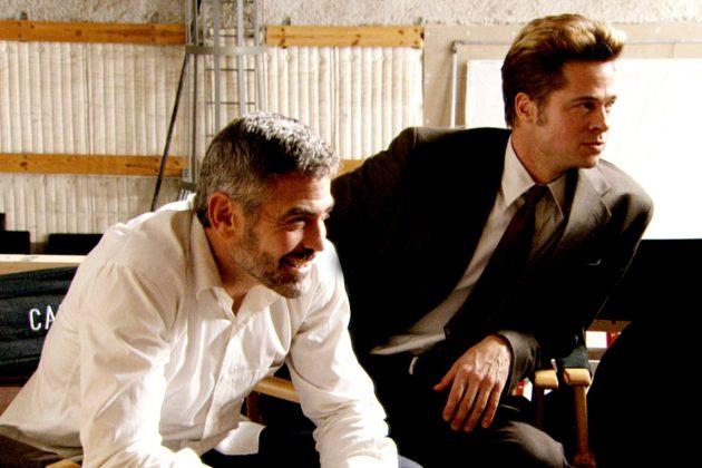 Džordž Kluni i Bred Pit