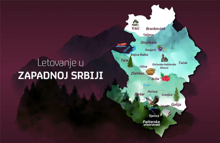 Letovanje u Zapadnoj Srbiji