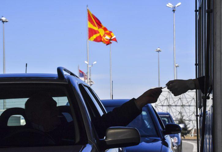 ulazak u makedoniju