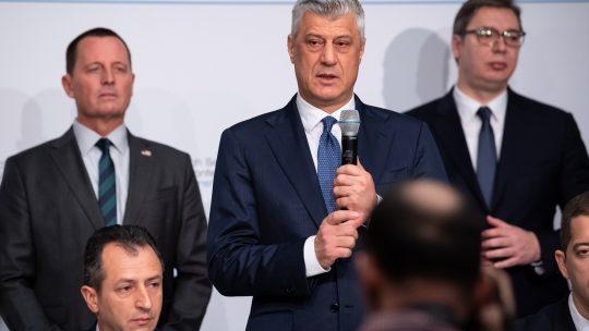 Grenel, Tači, Vučić