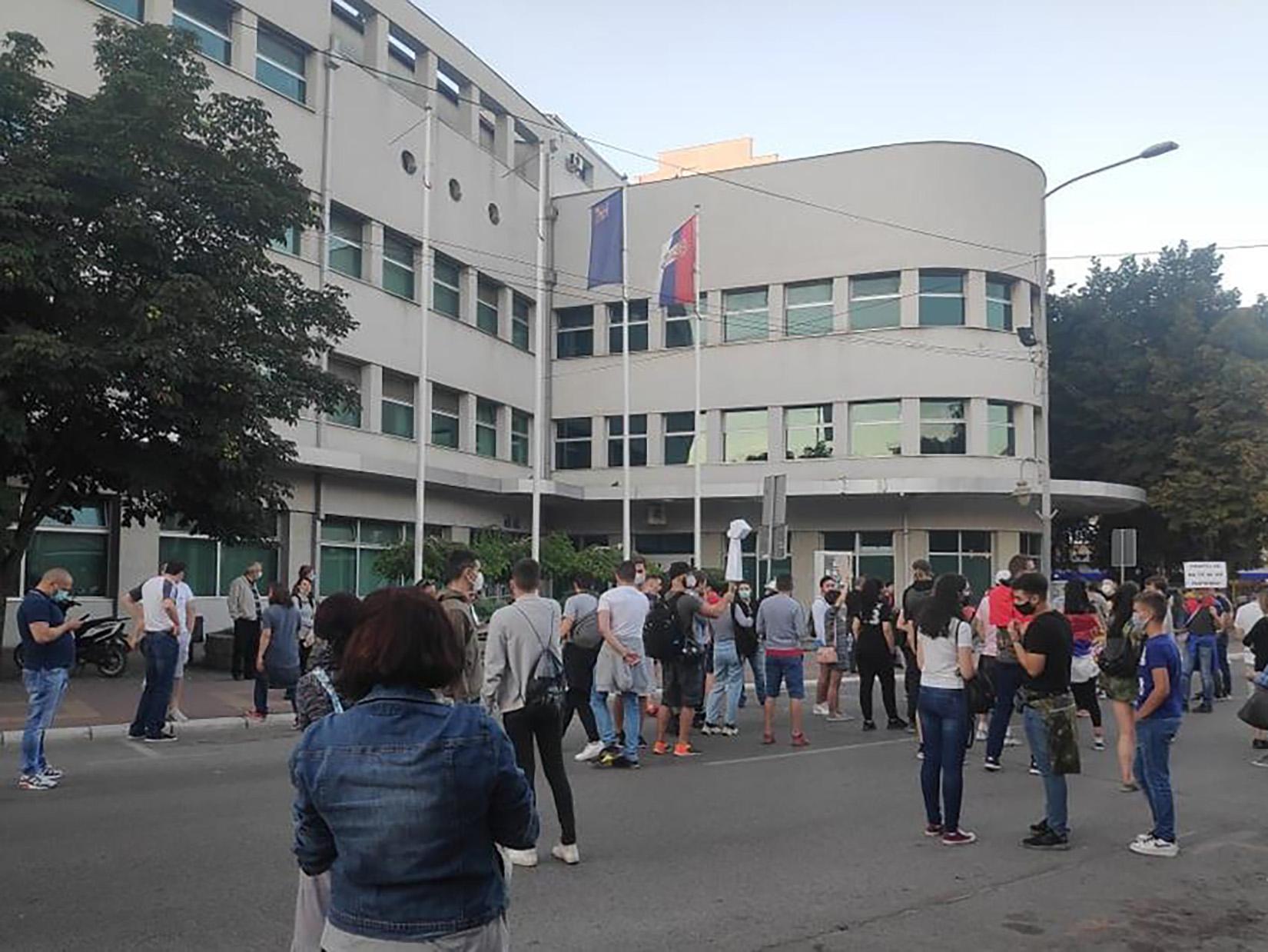 Protest u Nišu šesti dan