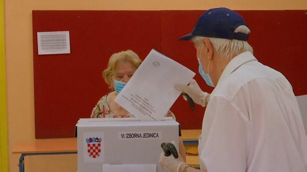 izbori u hrvatskoj glasanje