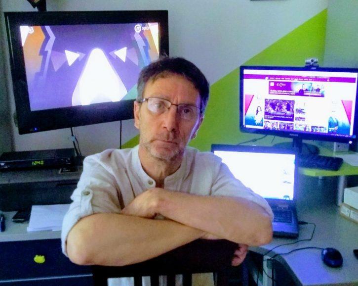 Dragan Popović kolumnista sajta nova.rs i sportski komentator