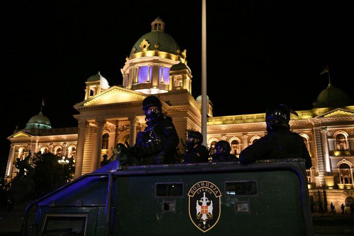 protest policija