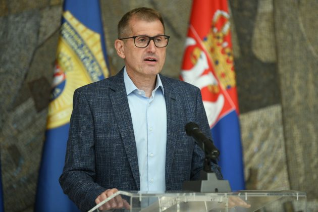 Vladimir Rebić tokom danasnje konferencije za novinare