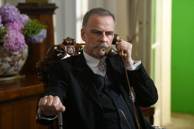 Zarko Lausevic tokom snimanja serije Kralj
