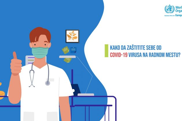 Mere zaštite od COVID-19 virusa na radnom mestu