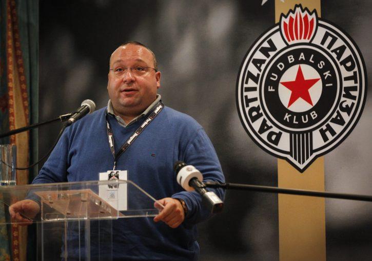 Vuletić kaže da Partizan neće dozvoliti da Terzić bude predsednik FSS