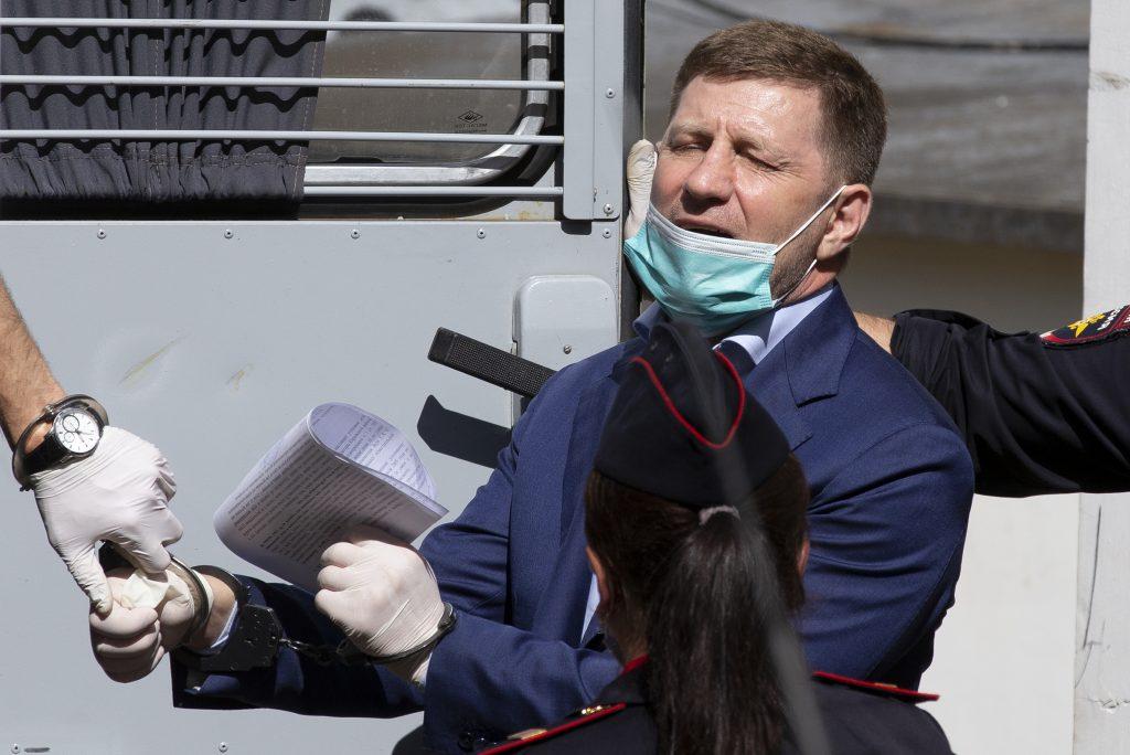 Hapšenje Sergeja Furgala, guvernera Kabarovske oblasti