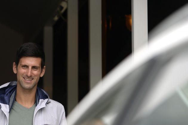 Novak Djokovic tokom posete Bosni