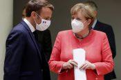 Emanuel Makron i Angela Merkel u Briselu nakon postizanja sporazuma