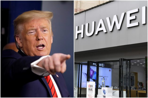 Tramp, Huawei kombo