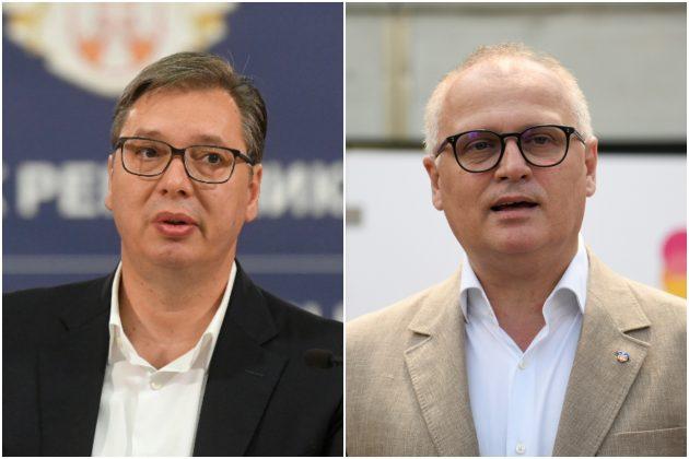 Vučić, Vesić kombo