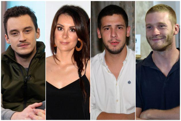 Ljubomir Bulajić, Dragana Mićalović, Vladimir Kovačević i Aleksandar Radojičić