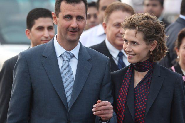 Bašar al Asad, Asma al Asad