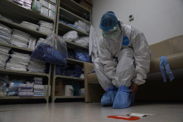 meksiko; koronavirus: bolnica; zaštitna oprema