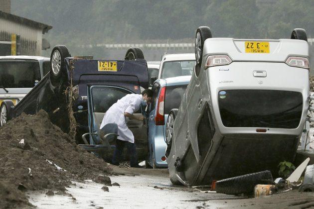 Posledice poplava u Japanu