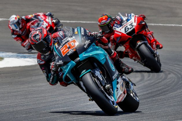 Fabio Kvartararo osvojio je pol poziciju u trci Moto GP šampionata za Veliku nagradu Andaluzije