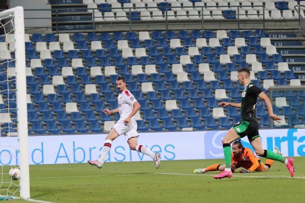 Zlatan Ibrahimović protiv Sasuola