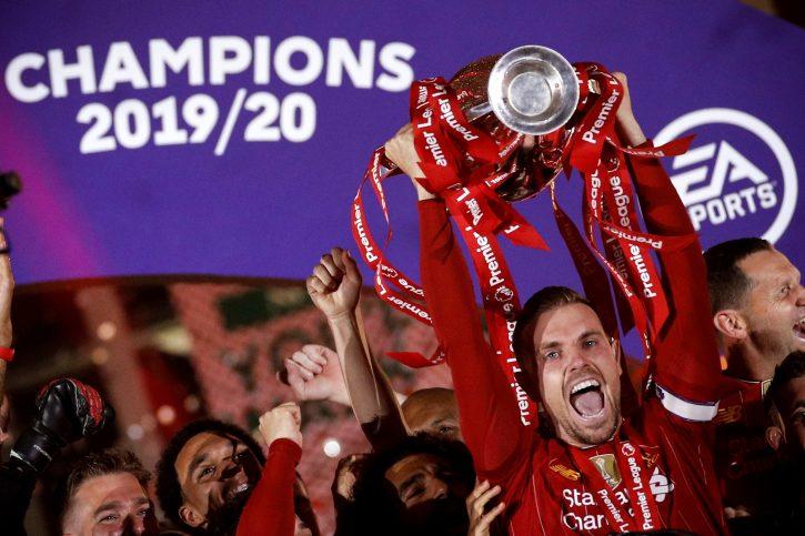Kapiten Liverpula Džordan Henderson najbolji fudbaler Engleske