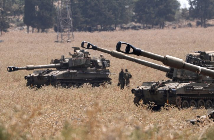 Novi sukob na granici Izraela i Libana, tenkovi
