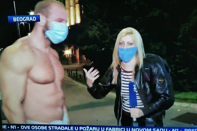 Baja sa protesta i Jelena Zorić
