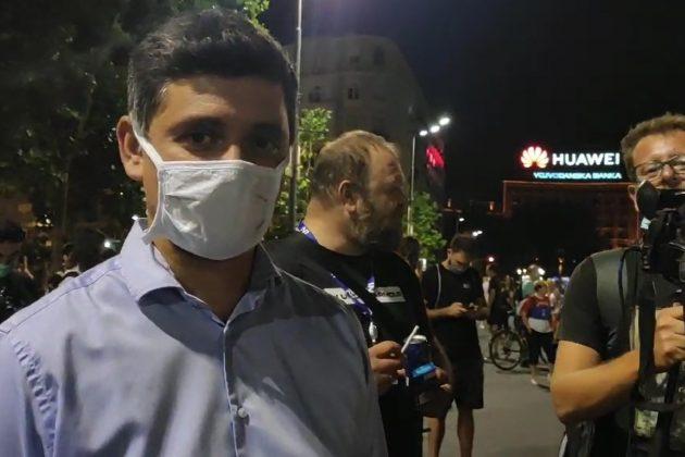 Novinar N1 Petar Gajić