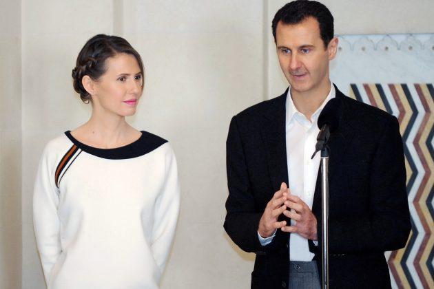Asma al Asad, Bašar al Asad, sirijski predsednik i njegova žena