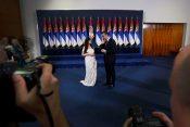 Tamara i Aleksandar Vučić tokom inauguracije predsednika Srbije