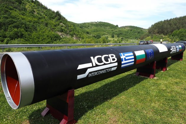 gasovod bugarska-grcka