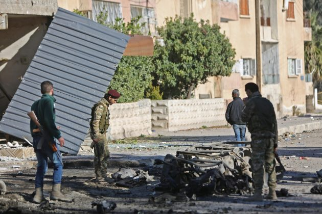 Sirija, bomba