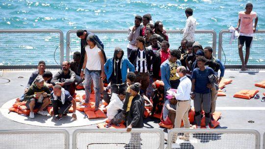 Malta, spaseni migranti