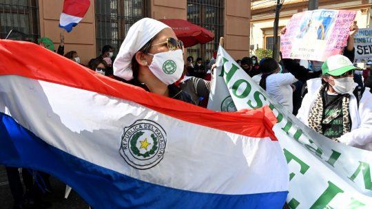 Paragvaj protest