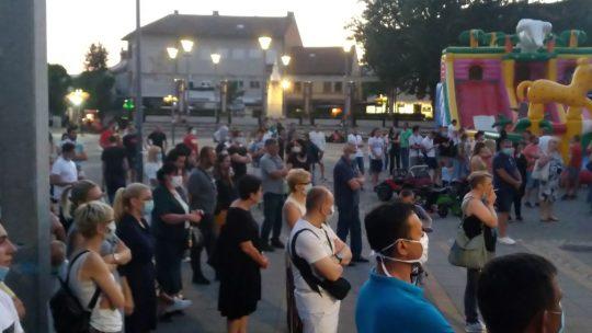 Protest u Požegi