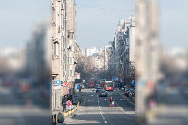 Sarajevska ulica, Beograd